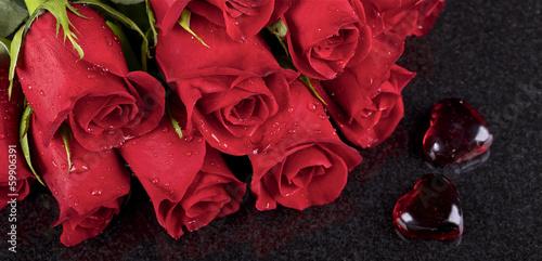 роза сердце капли  № 1395910 бесплатно