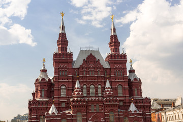 Histostical Museum in Moscow
