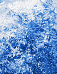 blue crystallization