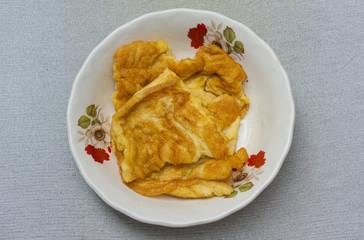 plain omelet