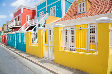 Wall Mural - Colorful Curacao