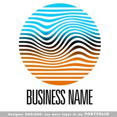 abstract, business, logo, emblem, vector
