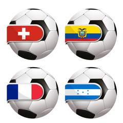World Cup football group E