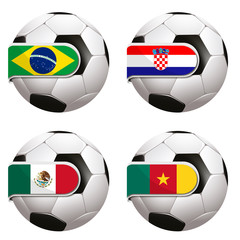 World Cup football group A