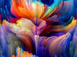 Obraz Color Flower - fototapety do salonu