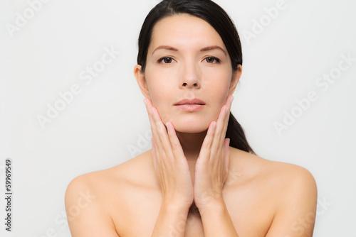 Alle natürlichen Frau nackt
