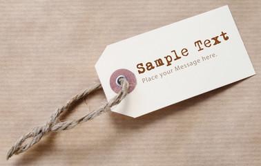 Paper Label