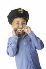 Young Donut-Cop