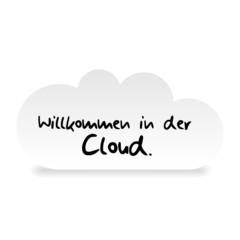 wolke willkommen in der cloud I