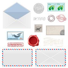Postal Business Icons