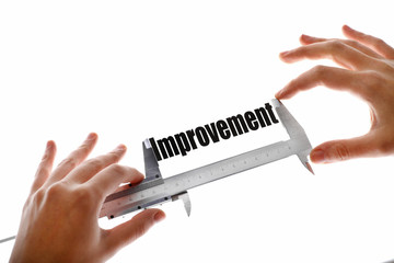 Measuring improvement