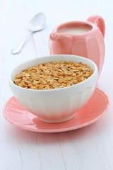 Delicious and healthy granola cereal