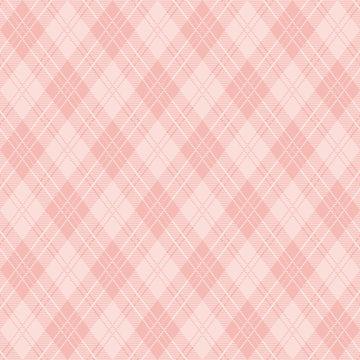 ピンク アーガイル柄 壁紙