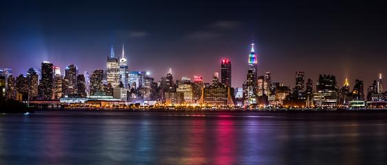 Fotomurales - Manhattan Panorama during the Pride Weekend
