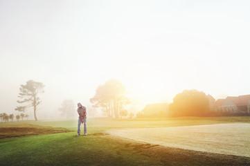 Foto op Aluminium Golf chip shot golf