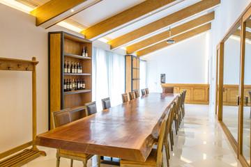 wine cellar interior and decoration
