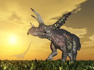 Dinosaur Pentaceratops