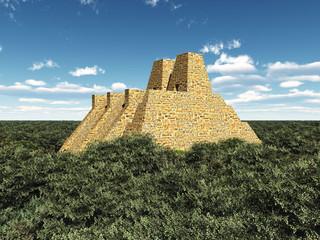 Tempel der Azteken