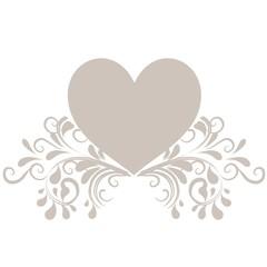 Herz mit Ornamenten
