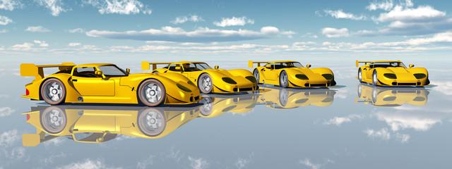 Schöne Sportwagen