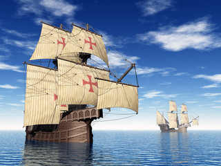 Portuguese Ship of the Fifteenth Century