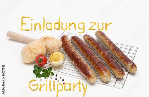 """einladung zur grillparty"""" stockfotos und lizenzfreie bilder auf, Einladung"""