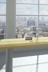 Modern urban office room