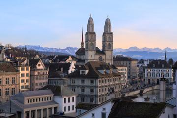 Blick über Zürich, Schweiz