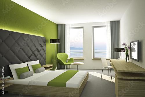Hotelzimmer gr n stockfotos und lizenzfreie bilder auf for Hotelzimmer design