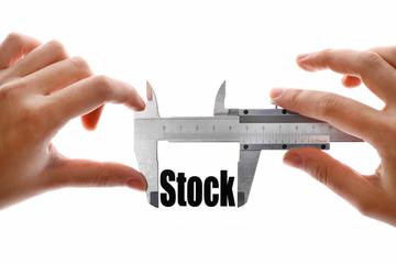 Measuring stock