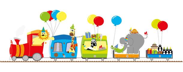 zoo pociąg - przyjęcie urodzinowe