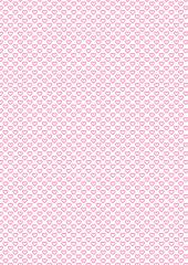 Hintergrund rosa Herzen auf weiß