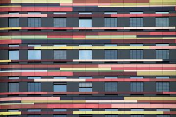 Bunte Hausfassade