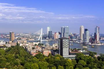 Rotterdam Skyline vom Euromast