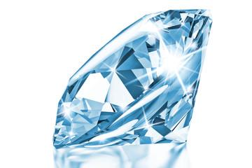 Blue luxury diamond