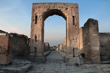 Scavi e rovine di Pompei - Napoli
