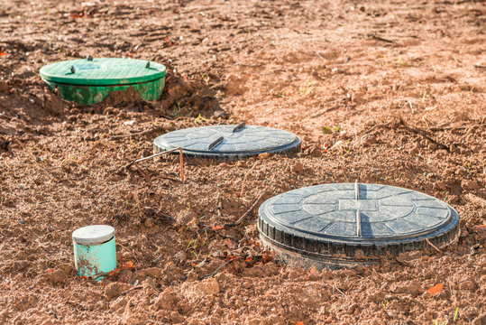 domestic wastewater treatment in private garden