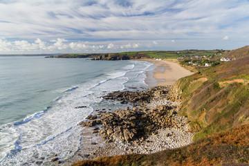 Praa Sands Beach Cornwall