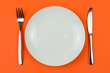 Dinner plate Wall mural
