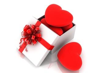 box, heart