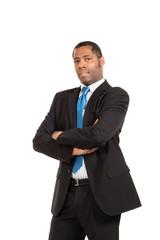 portrait of handsome black man