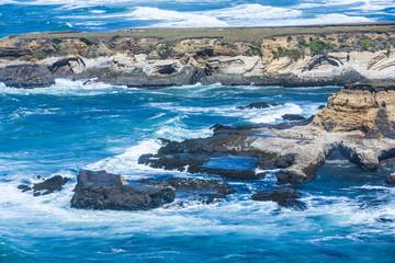 Foto op Plexiglas Kust wild pacific coast at point arena