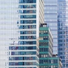 Skyscraper reflections