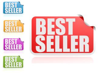 Best seller label set