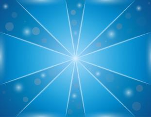 blue shining background