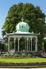 Pavillon im Stadtpark Byparken in Bergen
