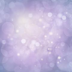 Violet Lights Festive background