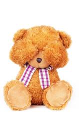 Fototapeta teddy bear can't see obraz