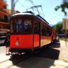 tramway rouge