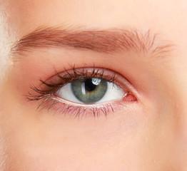 Woman's eyeю
